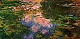 Claude Monet The Water-Lily Pond 9 painting