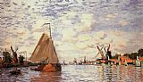Claude Monet The Zaan at Zaandam 2 painting