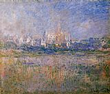 Claude Monet Vetheuil in the Fog painting