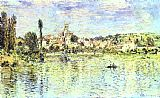 Claude Monet Vetheuil in the Summer painting