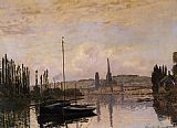 View Canvas Paintings - View of Rouen