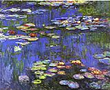 Claude Monet Water Lilies 1914 painting