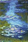 Famous Water Paintings - Water Lilies I