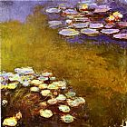 Lilies Canvas Paintings - Water-Lilies 1917