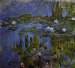 Claude Monet Water-Lilies 30 painting