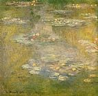 Claude Monet Water-Lilies 32 painting