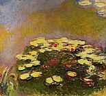 Lilies Canvas Paintings - Water-Lilies 47