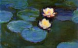 Famous Lilies Paintings - Water-Lilies