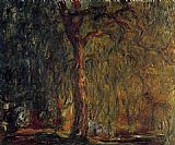 Claude Monet Weeping Willow 2 painting