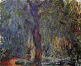 Claude Monet Weeping Willow 3 painting
