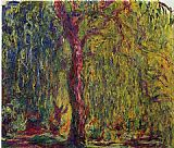 Claude Monet Weeping Willow 4 painting