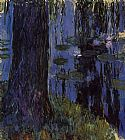 Claude Monet Weeping Willow and Water-Lily Pond 1 painting