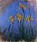 Claude Monet Yellow Irises 1 painting