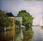 Claude Monet Zaandam 2 painting