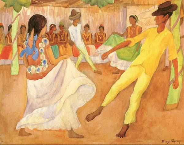 Diego Rivera Canvas Paintings