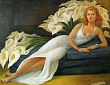 Famous Portrait Paintings - Portrait of Natasha Zakolkowa Gelman