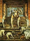 Diego Rivera The Sugar Mill painting