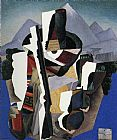 Diego Rivera Canvas Paintings - Zapatista Landscape
