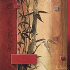 Don Li-leger Canvas Paintings - Bamboo Garden