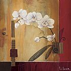 Famous Orchid Paintings - Orchid Lines II