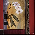 Don Li-leger Wall Art - Weatherprint_ Orchid Lines I