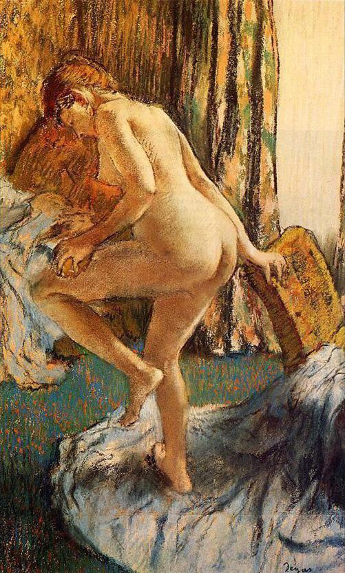 Edgar Degas After the Bath