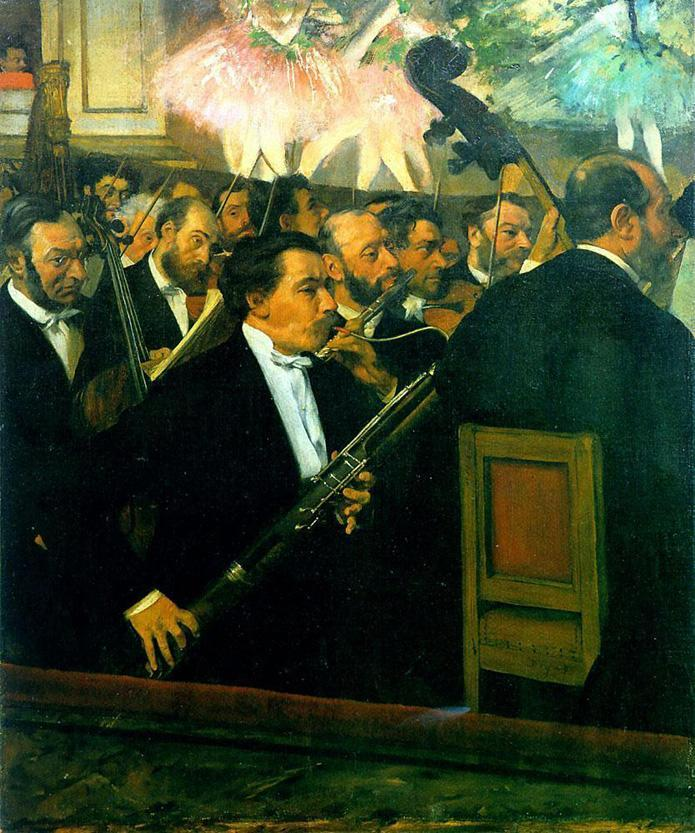 Edgar Degas The Orchestra of the Opera