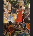 Edgar Degas Cafe Concert - At Les Ambassadeurs painting