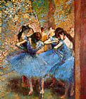Famous Blue Paintings - Dancers in Blue