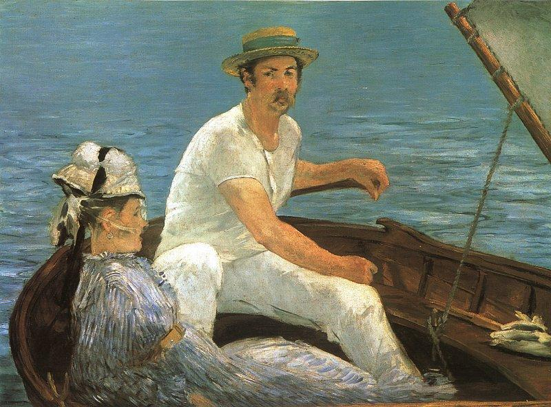 Edouard Manet Boating