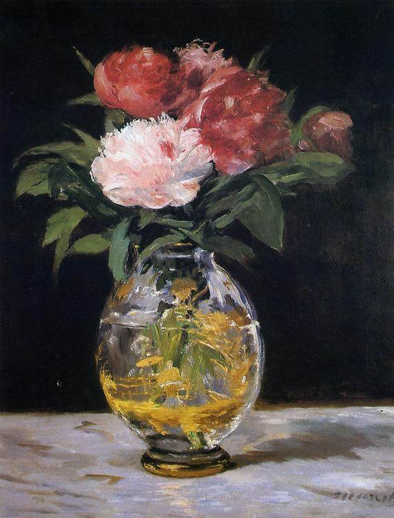 Edouard Manet Bouquet of Flowers