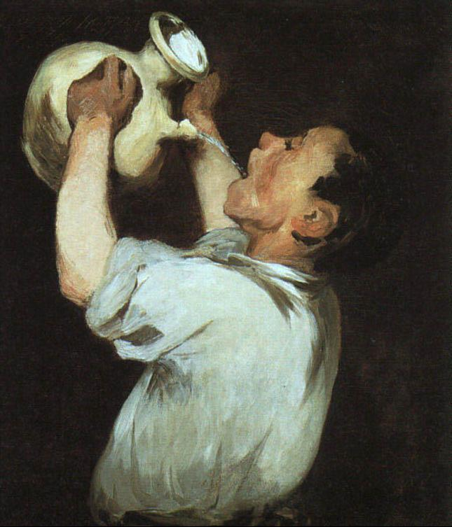 Edouard Manet Boy with a Pitcher