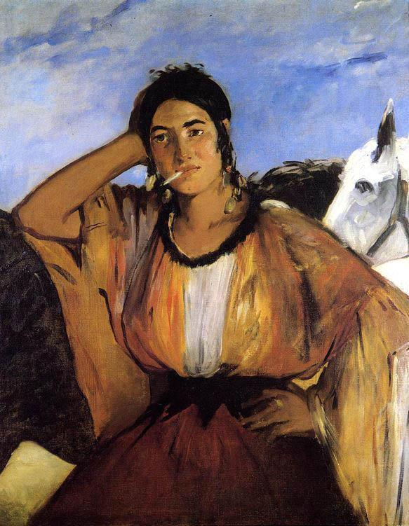 Edouard Manet Gypsy with Cigarette