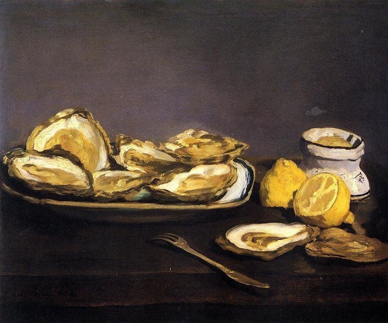 Edouard Manet Oysters