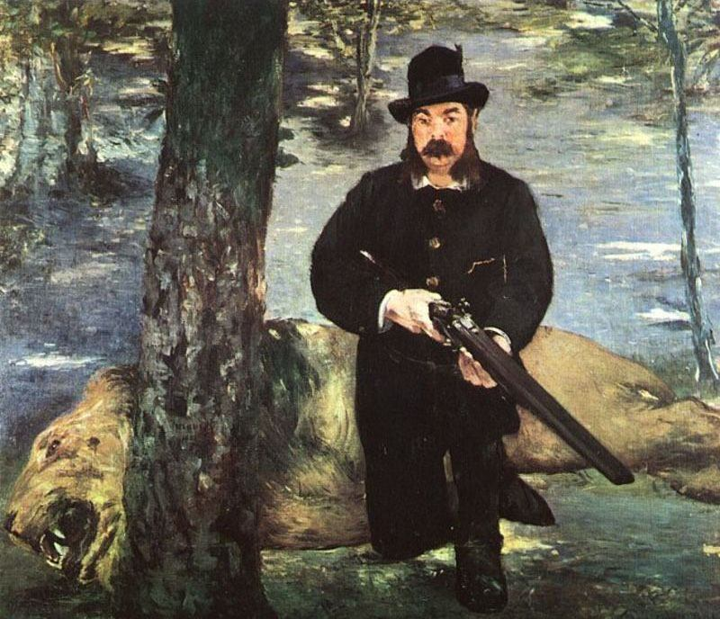 Edouard Manet Pertuiset, Lion Hunter