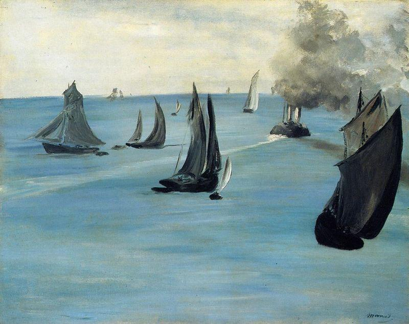 Edouard Manet Steamboat