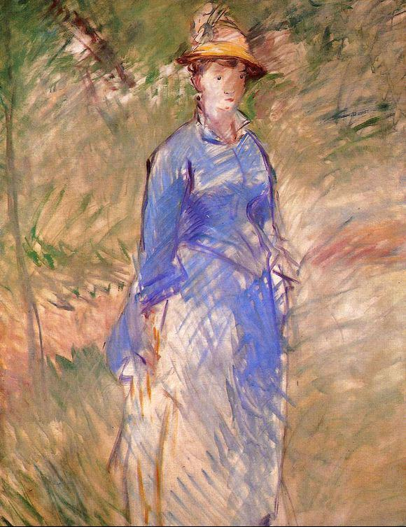 Edouard Manet Young Woman in the Garden I