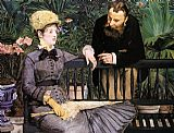 Edouard Manet The Conservatory painting