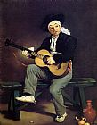 Edouard Manet The Guitar Player painting