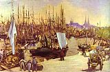 Edouard Manet The Harbour At Bordeaux painting