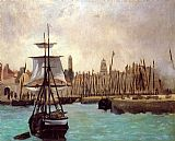 Edouard Manet The Port of Calais painting