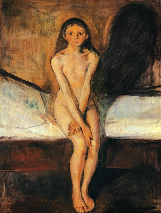 Edvard Munch Puberty 1894
