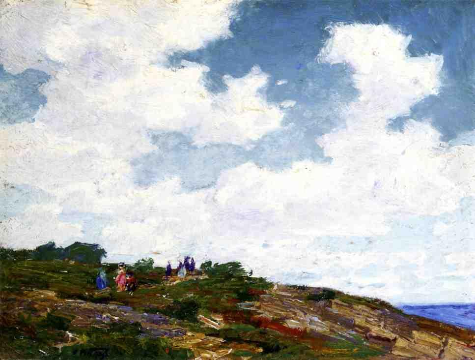 Edward Henry Potthast Canvas Paintings
