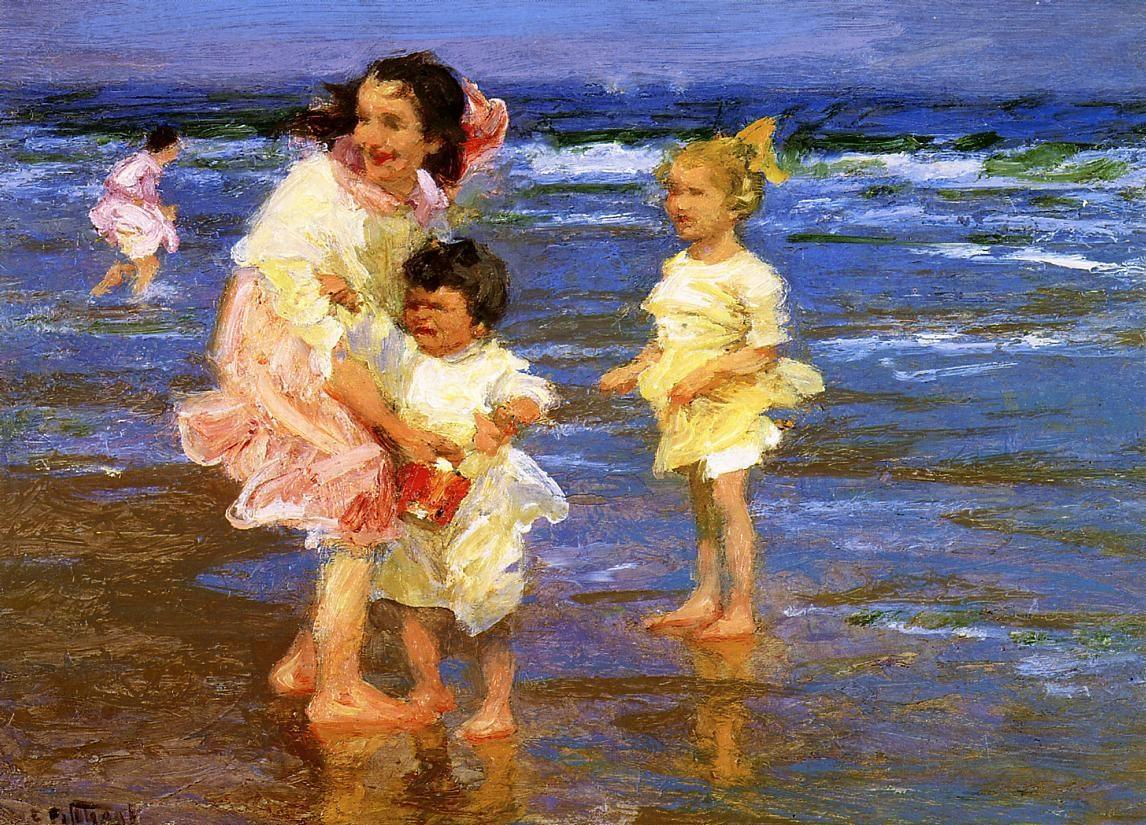 Edward Henry Potthast Famous Paintings page 3