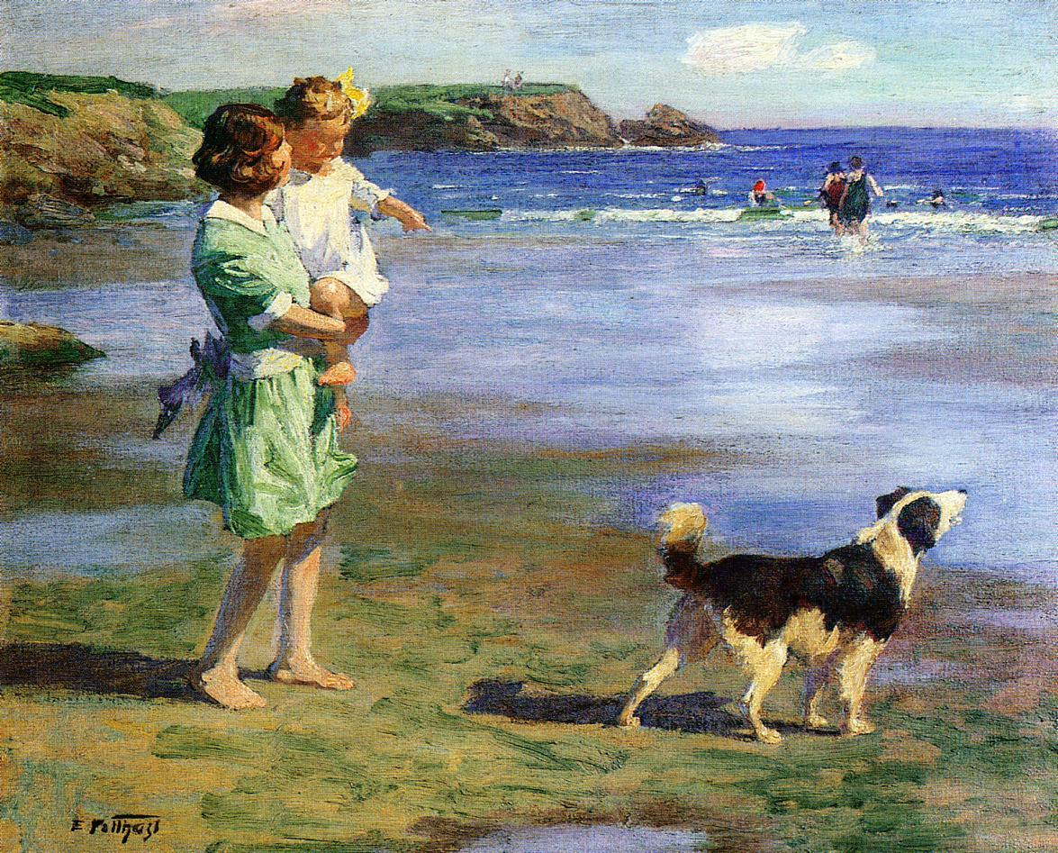 Edward Henry Potthast Famous Paintings