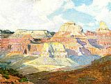 Edward Henry Potthast Canvas Paintings - Grand Canyon