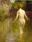 Edward Henry Potthast Wall Art - Nude