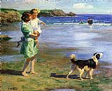 Edward Henry Potthast Famous Paintings - Summer Pleasures