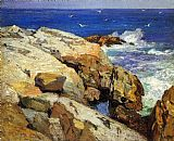Edward Henry Potthast Famous Paintings - The Maine Coast