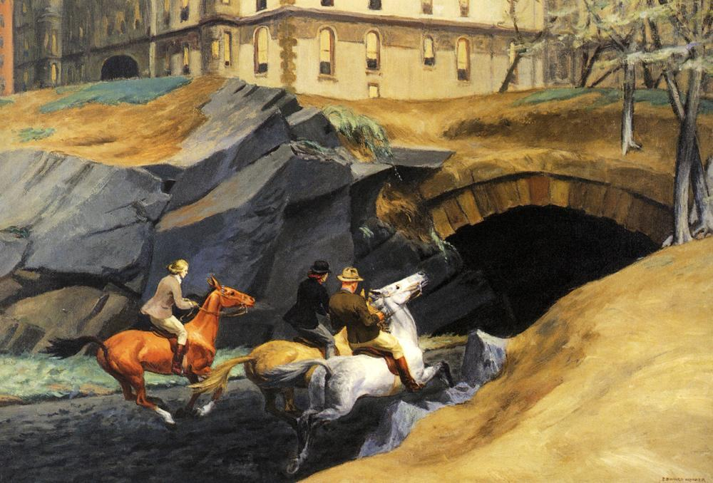 Edward Hopper Bridle Path